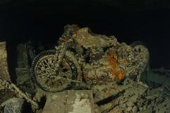 SS Thistlegorm - motorbike