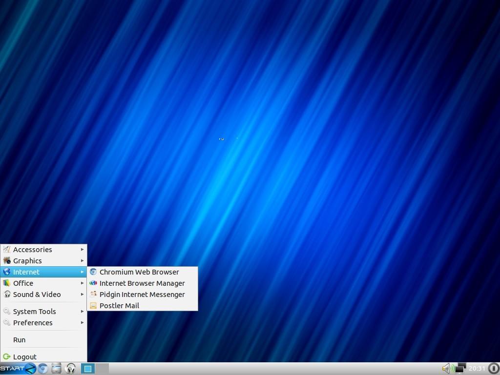 Zorin OS 6 Lite Internet-Anwendungen