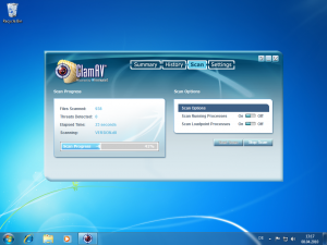 ClamAV unter Windows 7