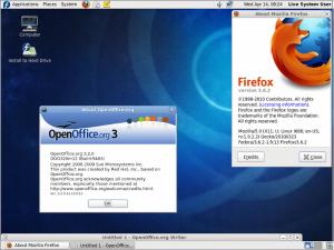 Fedora 13 Firefox und OpenOffice.org