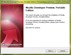 Firefox 3.7 Alpha Installer portable Apps