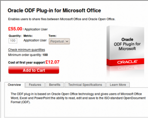 Download ODF-Plugin SUN Oracle