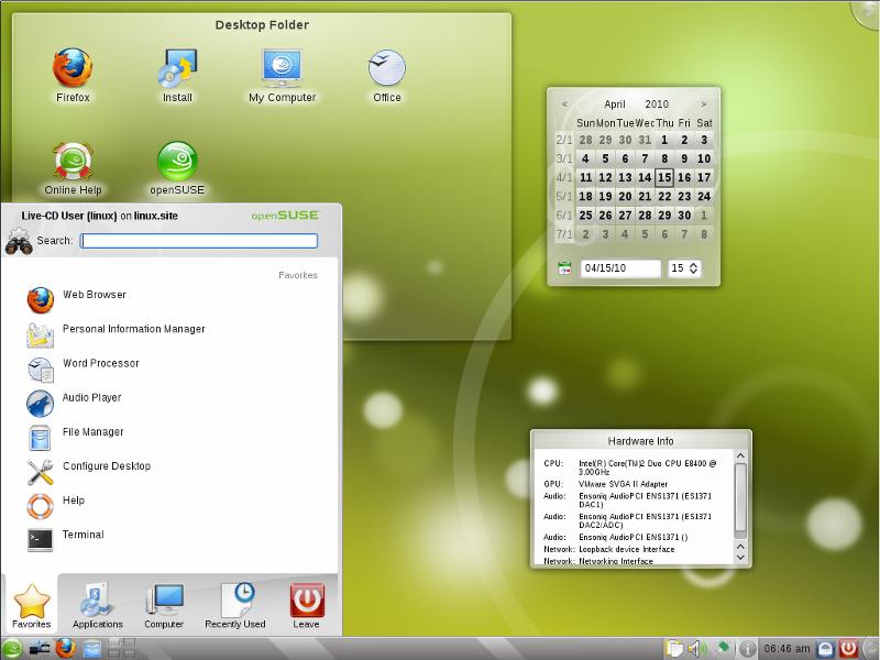 Windows 7 Kde Opensuse Look M 246 Glich