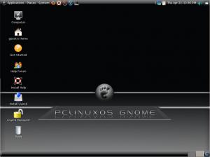 PCLinuxOS GNOME