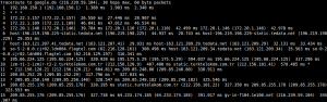 SEA-ME-WE-4 Traceroute
