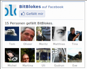 Facebook ohne social plugin
