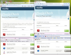 Mozilla Plugin Check Windows 7 Internet Explorer Firefox Chrome Opera
