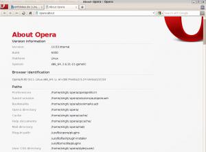 Opera 10.53 Beta Linux