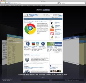 Safari 5 Mac OS X Verlauf