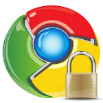 Chrome Logo Sicherheit