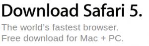 Safari schnellster Browser