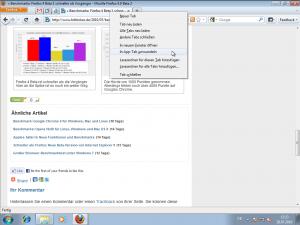 Firefox 4 Beta 2 App Tab