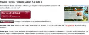 Firefox 4 Beta 2 PortableApp