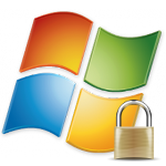 Windows 7 Logo Sicherheit 150x150