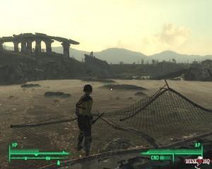 Fallout 3 läuft unter Wine und sollte auch unter CrossOver 13.2.0 funktionieren