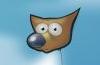 GIMP Tutorial: Logo mit Hintergrund verschmelzen lassen