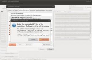 TOR Ubuntu Repository in Synaptic anfügen