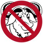 GNU verboten 150x150