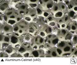 Aluminum Celmet (Quelle: Sumitomo Electric Industries)