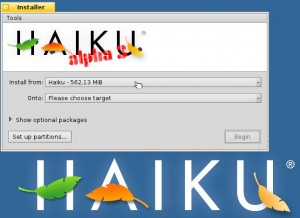 Haiku Installer