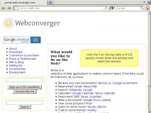Webconverger 8.5