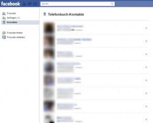 Facebook Handy-Debakel