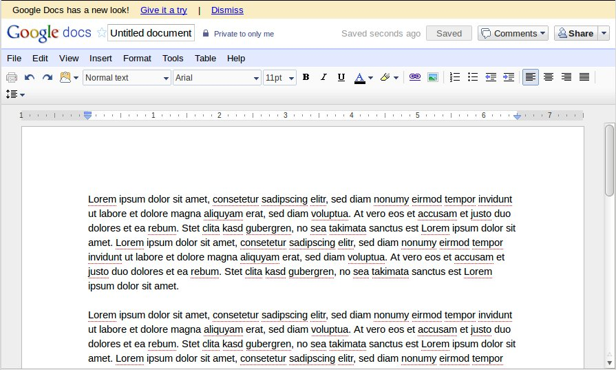 Google Documents alt