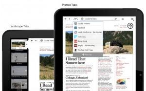 Mozilla Firefox Tablet