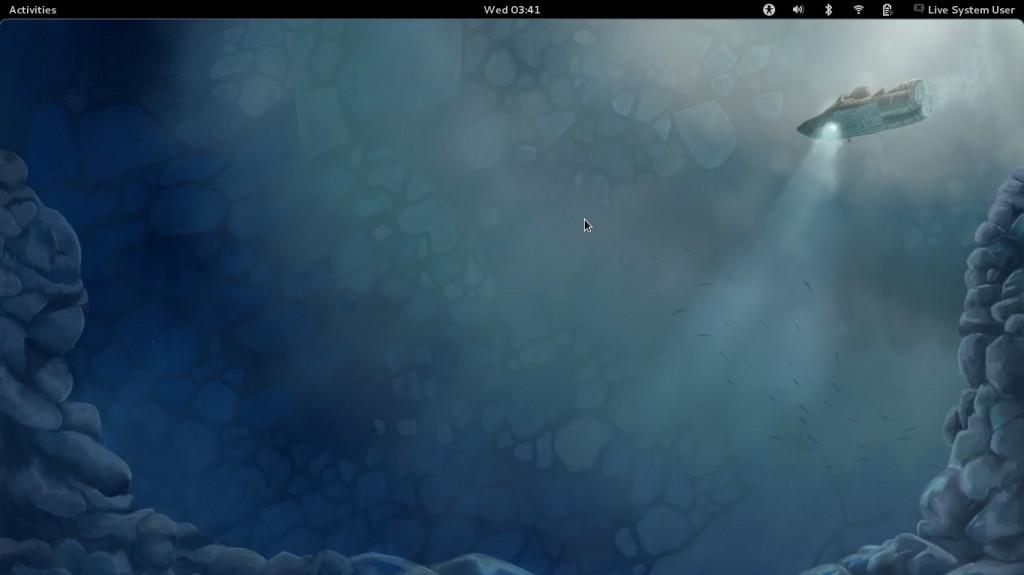 Fedora 16 Desktop