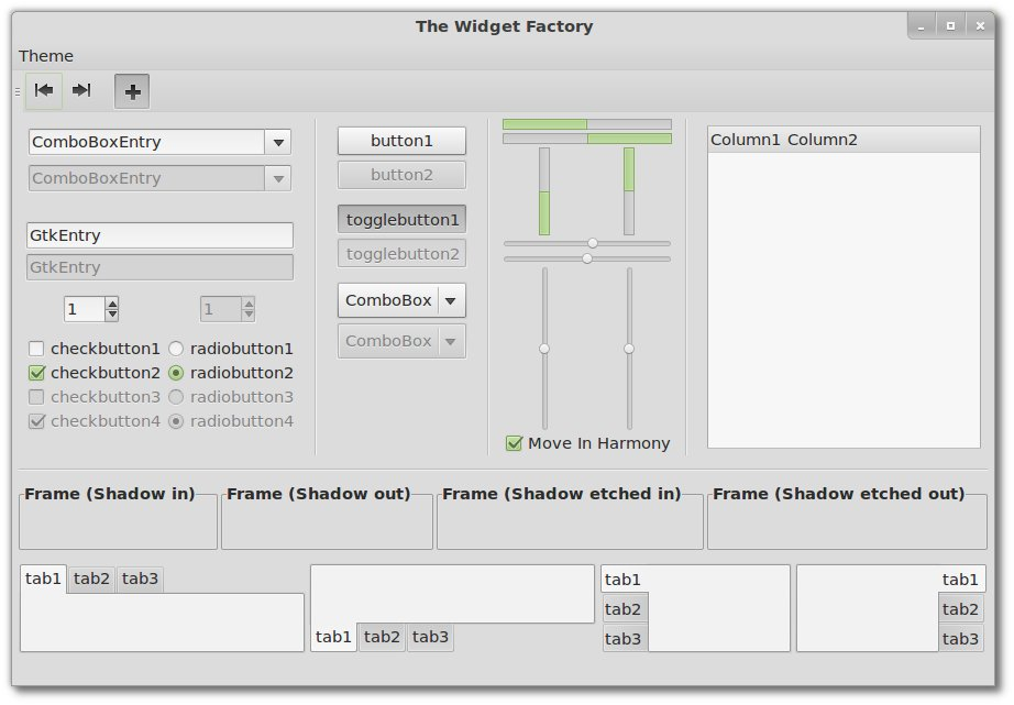 Linux Mint 12 TWF - The Widget Factory