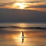 Freebie-Freitag: Kostenloses Hintergrundbild / Wallpaper – Sonnenuntergang auf tropischer Insel