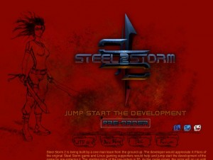 Steel Storm 2 Teaser Webseite