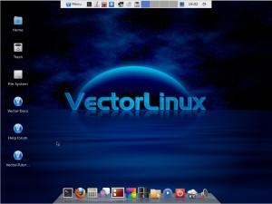 Vector Linux 7 Desktop