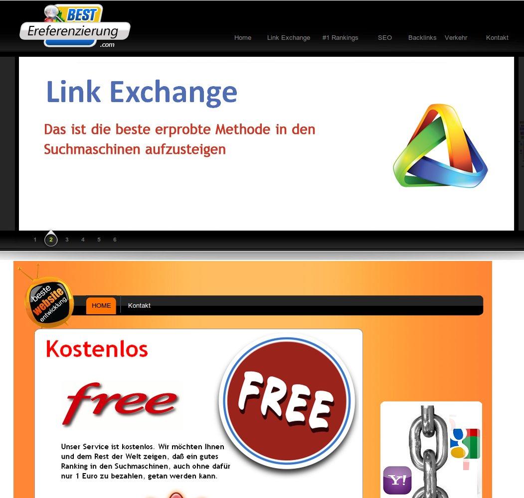 Bestereferenzierung Bestewebsiteentwicklung