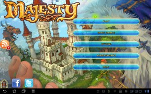 Majesty: Fantasy Kingdom Sim - Starbildschilrm