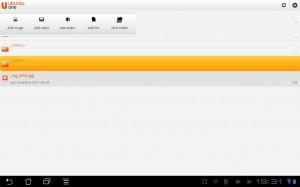 Ubuntu One Files Dateien hinzufügen