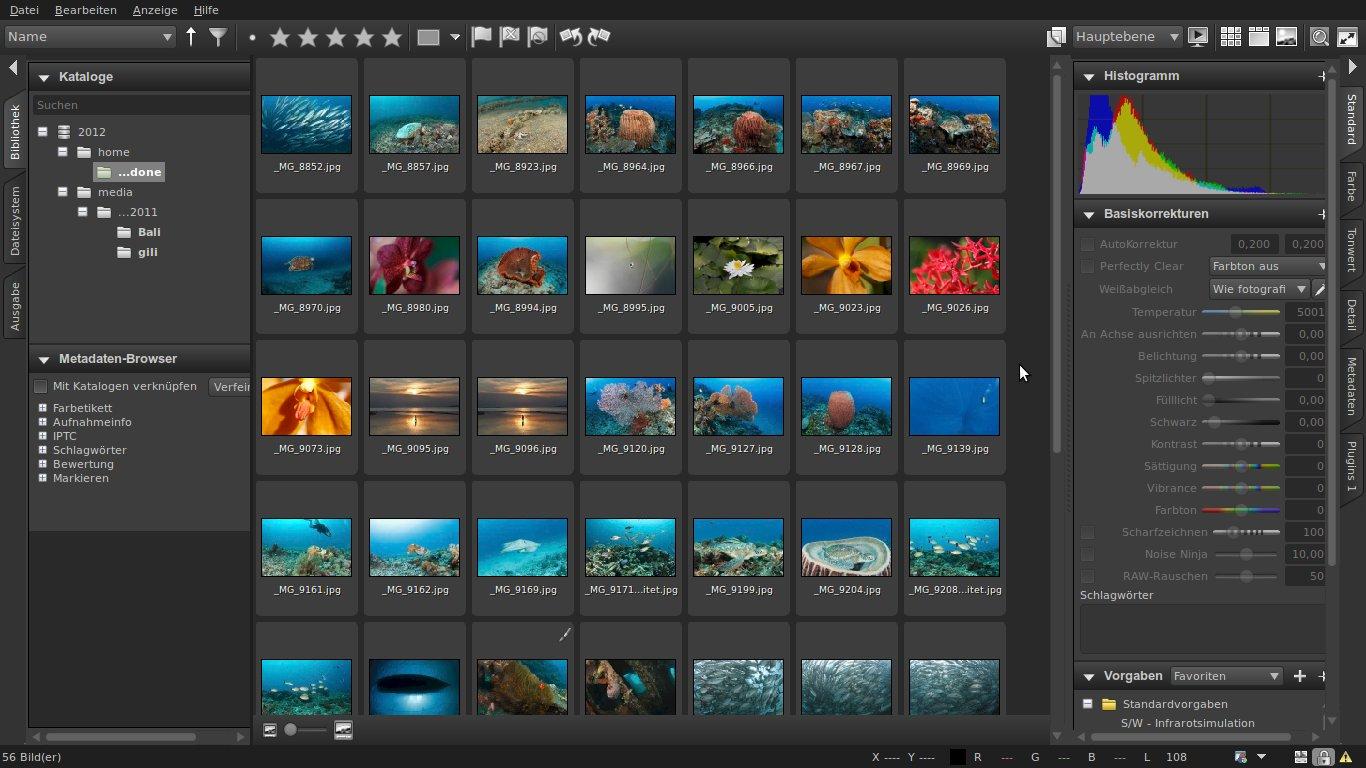 Corel Aftershot Pro Professionelle Bildbearbeitungs
