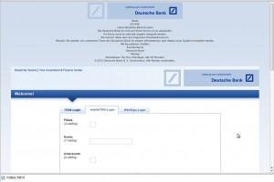 Deutsche Bank Scam