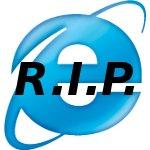 Ruhe in Frieden Internet Explorer 6 – vermissen wird Dich eh keiner