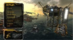 Oil Rush Startbildschirm