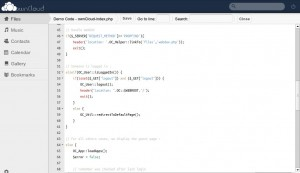 ownCloud Text-Editor