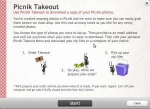 Picnik Takeout