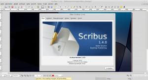 Scribus 1.4.0