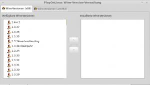 Wine 1.4-rc1 PlayOnLinux