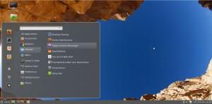 Cinnamon 1.3 Desktop