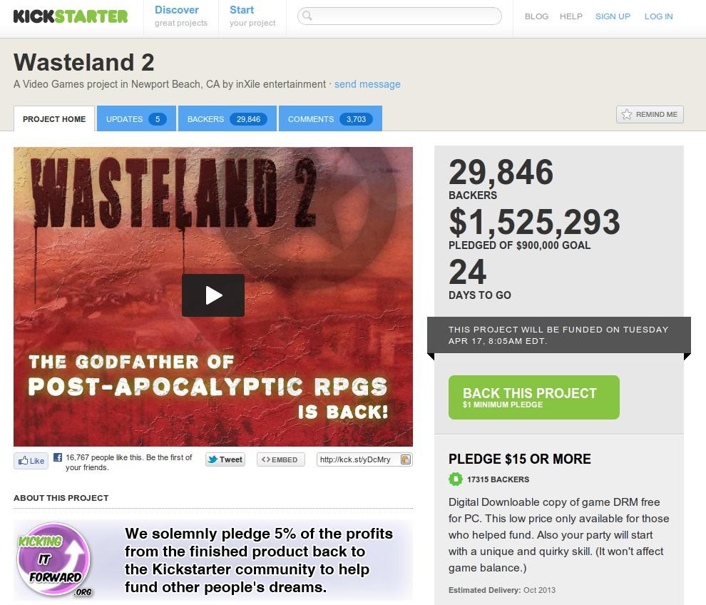 Es ist geschafft: Wasteland 2 kommt für Linux!