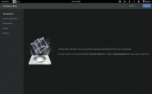 GNOME 3.6 Boxes