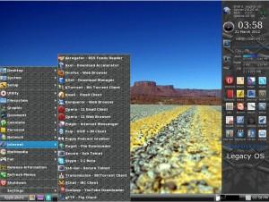 Legacy OS 4 Mini Internet-Anwendungen