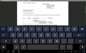 SoftMaker Mobile für Android TextMaker