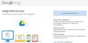 Google Drive für Linux